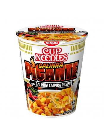 NISSIN CUP NOODLES GALINHA CAIPIRA PICANTE 68G