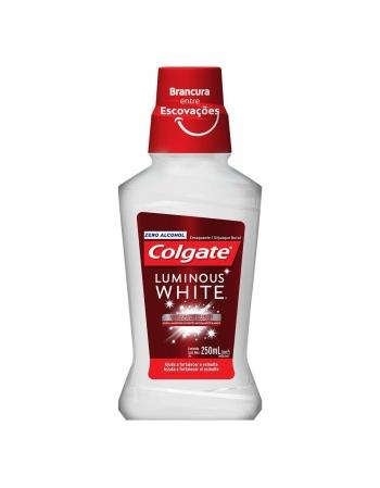 ENXAGUANTE BUCAL COLGATE LUMINOUS WHITE 250ML