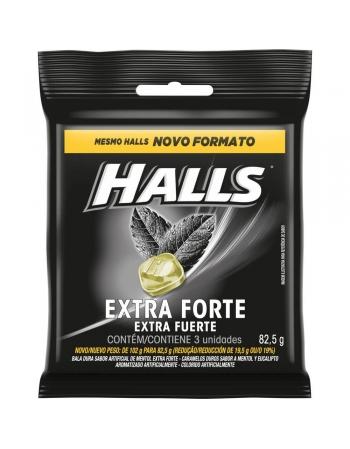 HALLS BAG EXTFORTE 82.5G
