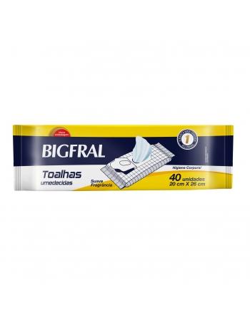 BIGFRAL TOALHAS UMEDECIDAS
