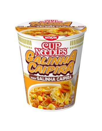 NISSIN CUP NOODLES GALINHA CAIPIRA 69G