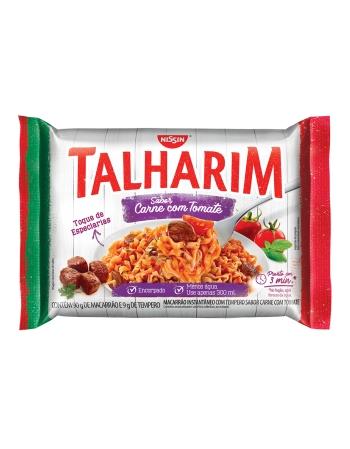 NISSIN TALHARIM CARNE COM TOMATE 99G