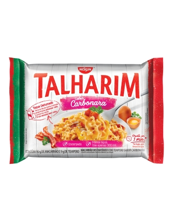 NISSIN TALHARIM CARBONARA 99G