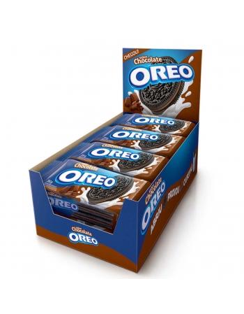 BISCOITO OREO CHOCOLATE 8 UNIDADES DE 36G