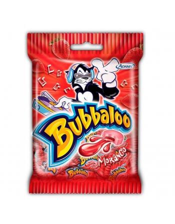 BUBBALOO MORANGO BAG 50G
