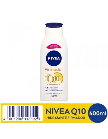 BODY HIDRATANTE NIVEA FIRMADOR Q10 VIT C 400ML