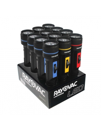 LANTERNA RAYOVAC TRI-LED MINI COM 12