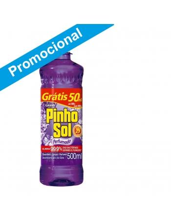 PINHO SOL LAVANDA LEVE 500ML PAGUE 450ML