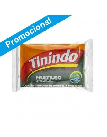 ESPONJA TININDO UNITÁRIA LEVE 12 PAGUE10