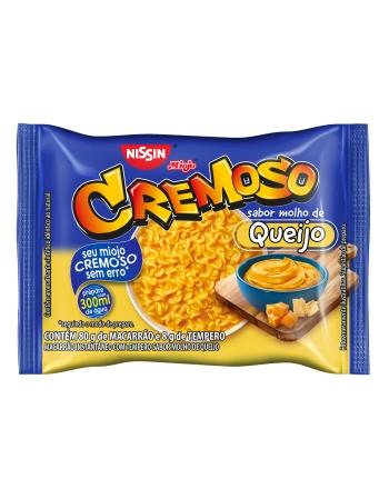 NISSIN LÁMEN CREMOSO MOLHO DE QUEIJO 88G