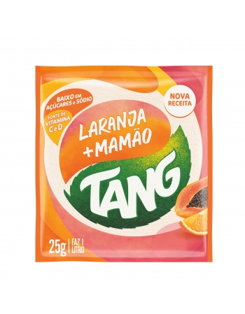 TANG LARANJA E MAMÃO 15 UNIDADES DE 25G