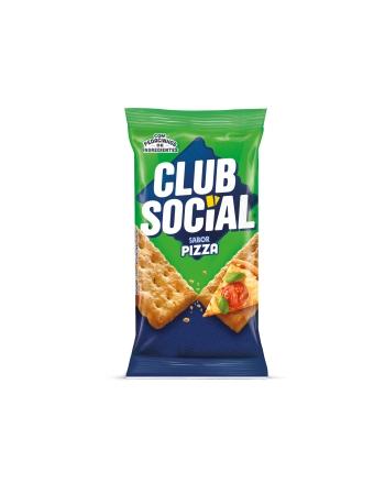 BISCOITO CLUB SOCIAL PIZZA 6 UNIDADES DE 23,5G