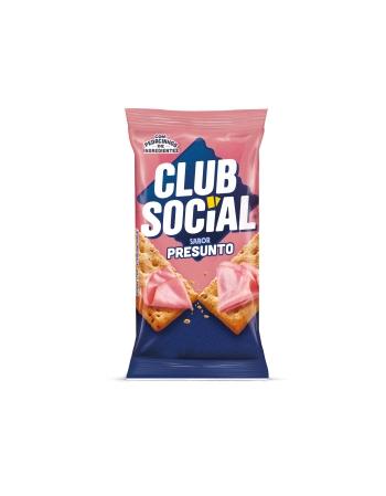 BISCOITO CLUB SOCIAL PRESUNTO 6 UNIDADES DE 23,5G