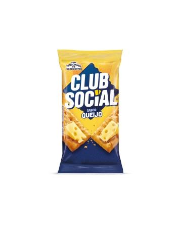 BISCOITO CLUB SOCIAL QUEIJO 6 UNIDADES DE 23,5G