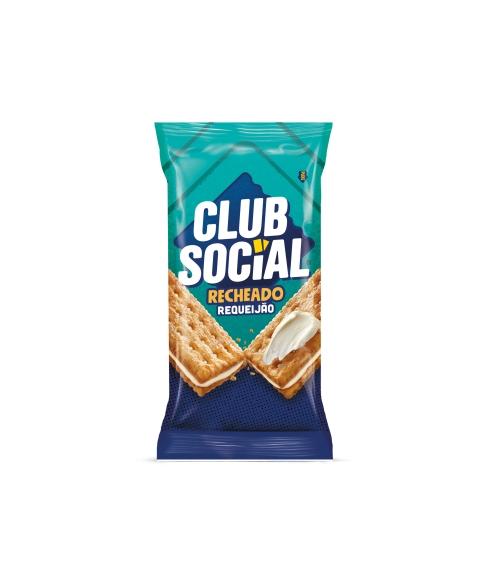 CLUB SOCIAL RECHEADO REQUEIJÃO 4 UNIDADES DE 26,5G