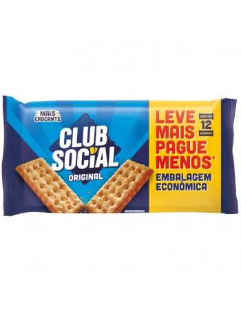 BISCOITO CLUB SOCIAL ORIGINAL EMBALAGEM ECONÔMICA 288G
