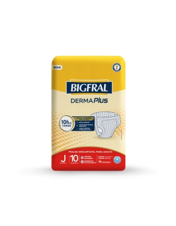 BIGFRAL DERMA PLUS REGULAR JUVENIL 10 UNIDADES