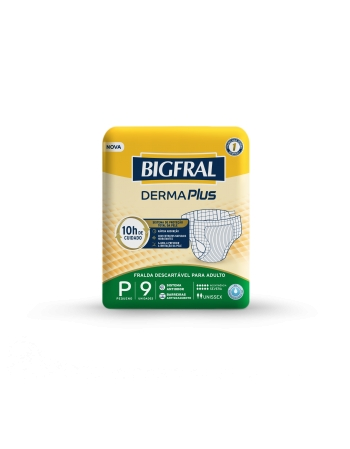 BIGFRAL DERMA PLUS REGULAR PQ COM 9 UNIDADES