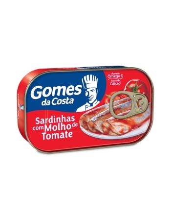 SARDINHAS COM MOLHO DE TOMATE 125G