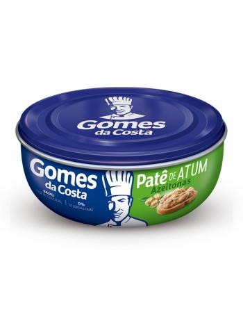 PATE DE ATUM COM AZEITONAS 10 X 150 GR