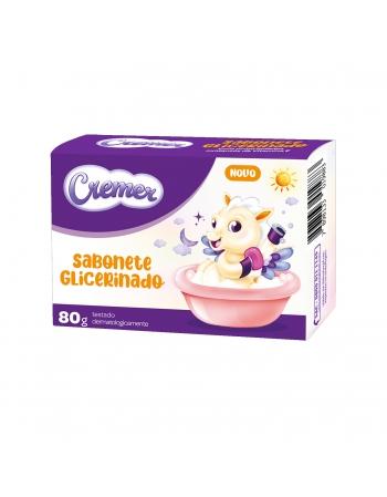 CREMER SABONETE GLICERINADO 80G