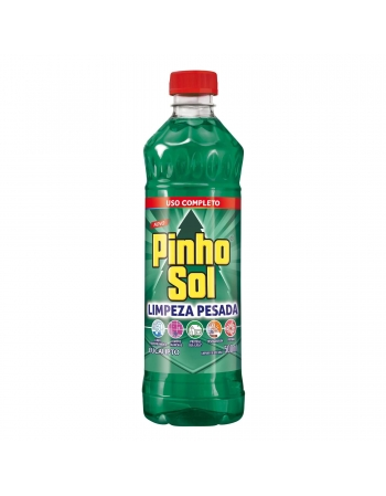 PINHO SOL LIMPEZA PESADA EUCALIPTO 500ML